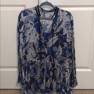 Tularosa Size Small Blue Dress